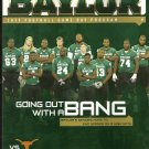 2011 Texas v Baylor Football Program