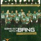2011 Texas v Baylor Football Program