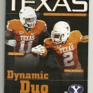 2011 Texas v Brigham Young Football Program