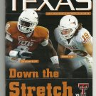 2011 Texas v Texas Tech Football Program