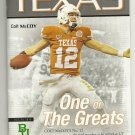 2010 Texas v Baylor Football Program
