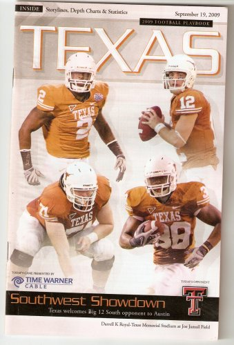 2009 Texas v Texas Tech Football Program