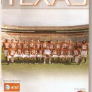 2009 Texas v Kansas Football Program