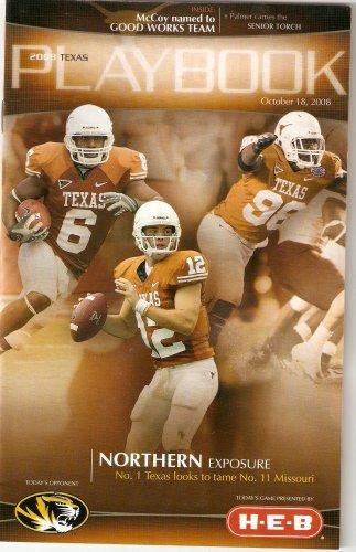 2008 Texas v Missouri Football Program