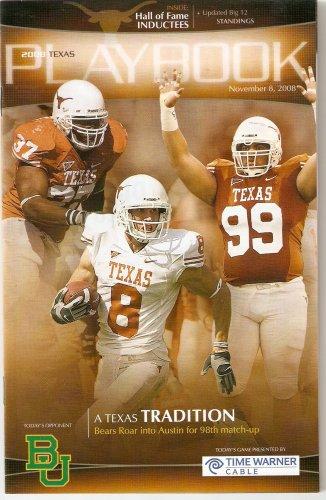 2008 Texas v Baylor Football Program