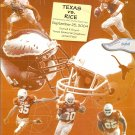 2004 Texas v Rice Program