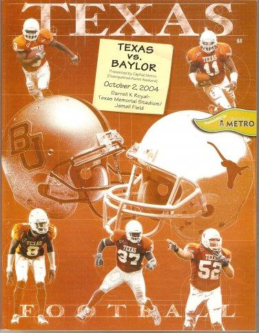 2004 Texas v Baylor Program