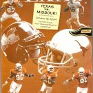 2004 Texas v Missouri Program