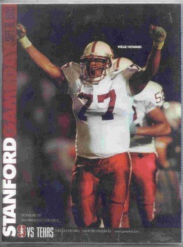 2000 Texas v Stanford Program