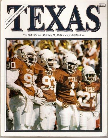1994 Texas v SMU Program