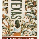 1994 Texas v Houston Full Ticket