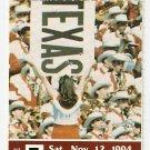 1994 Texas v Houston Full Ticket