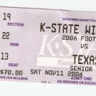 2006 Texas v Kansas State Full Ticket