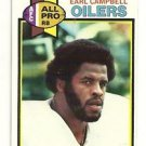 1979 Topps Earl Campbell Rookie Card # 390