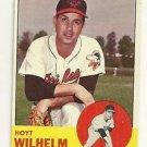 1963 Topps Hoyt Wilhelm # 108