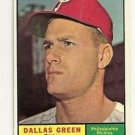 1961 Topps Dallas Green # 359