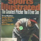 Sports Illustrated August 14, 1995 Atlanta Braves Greg Maddux