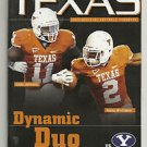 2011 Texas Football Lot of 5 Programs