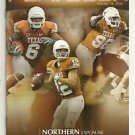 2008 Texas v Missouri  Football Program Colt McCoy