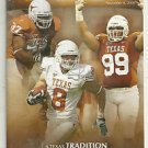 2008 Texas v Baylor  Football Program Colt McCoy