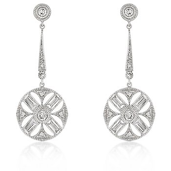 Diamond Zodiac Earrings