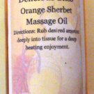 Orange Sherbet Massage Oil