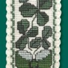 Irish Shamrock Bookmark Counted Cross Stitch Kit