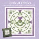 Scottish Circle of Thistles Picture Panel Counted Cross Stitch Kit