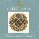 Celtic Jewel Counted Cross Stitch Card Kit