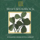 Irish Shamrock Counted Cross Stitch Card Kit