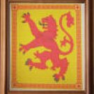 Scottish Rampant Lion Counted Cross Stitch Kit