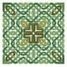 Ardmayle Knot (Green Irish) Counted Cross Stitch Kit