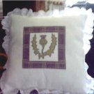 Scottish Thistle Counted Cross Stitch Kit