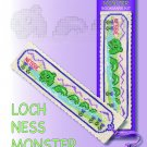 Nessie Bookmark Counted Cross Stitch Kit