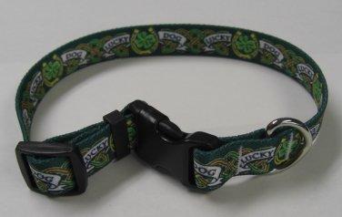 Dog Collar - Lucky Dog - size Large