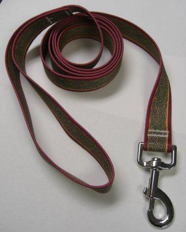 """Dog Lead - Celtic Knotwork - Medium 3/4"""""""