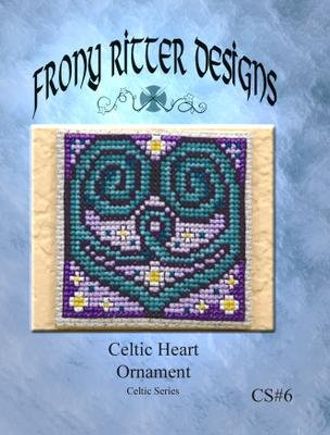 Celtic Heart Ornament Chart