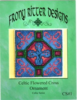 Celtic Flower Cross Ornament Chart