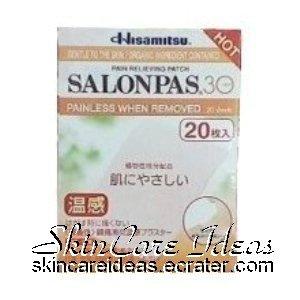 Salonpas 30 Hot Pain Relieving Patch (20 plasters)