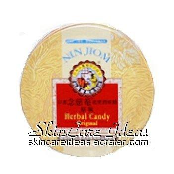 Nin Jiom Herbal Candy Original 60g (Pack of 2)