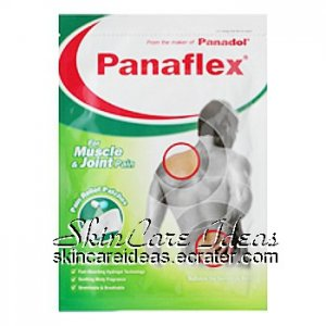 Panaflex Pain Relief Patches (4 plasters)
