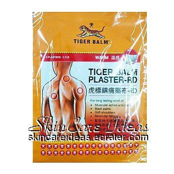Tiger Balm Medicated Large Plaster Warm (12 plasters)