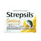 Strepsils Honey & Lemon 24 Lozenges (Pack of 2)