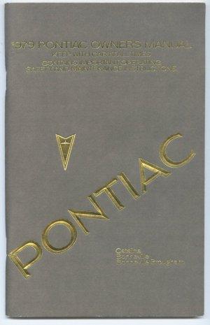 1979 Pontiac Catalina - Bonneville - Bonneville Brougham Owners Manual