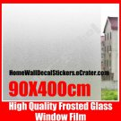 100%NEW~ 90cm Frosted Privacy Glass Window Vinyl Film Sticker Wallpaper Shower Doors Office Glass