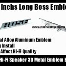 100%New~ BOSE Hi-Fi Speaker 3D Metal Aluminum Emblem Badge Auto Car (2 Pieces)