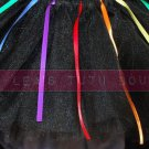 &#39;DARK SIDE OF THE RAINBOW&#39; toddler girls tutu