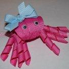 CRAB -1- pink   CLIPPIE