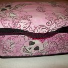 Custom Baby Wipes Nursery Case | PINK GLITTERY SKULL