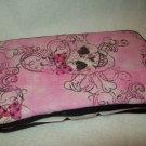 Custom Baby Wipes Travel Case | PINK GLITTERY SKULL